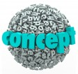 http://www.dreamstime.com/royalty-free-stock-photo-concept-word-letter-ball-sphere-idea-development-d-letters-to-illustrate-thinking-new-solution-image35557065